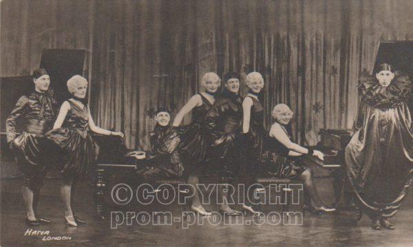 The Cabaret Kittens, 1927 (front)