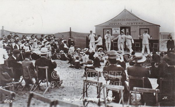 The Jovial Jesters, Rhyl, 1909
