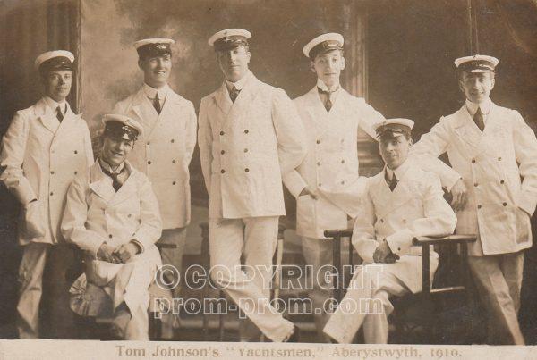 Tom Johnson's Yachtmen, Aberystwyth, 1910