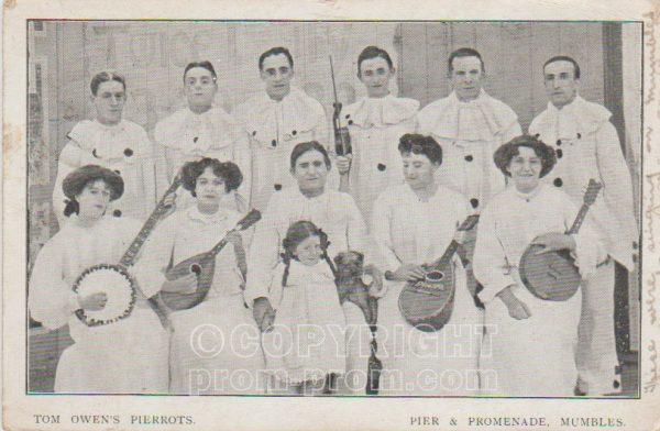 Tom Owen's Pierrots, Mumbles 1910