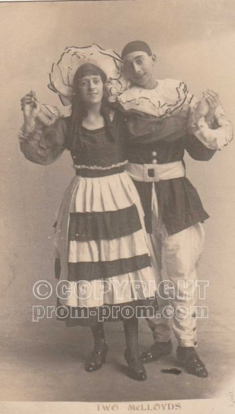 Unknown entertainers -Two McLloyds - Aberystwyth