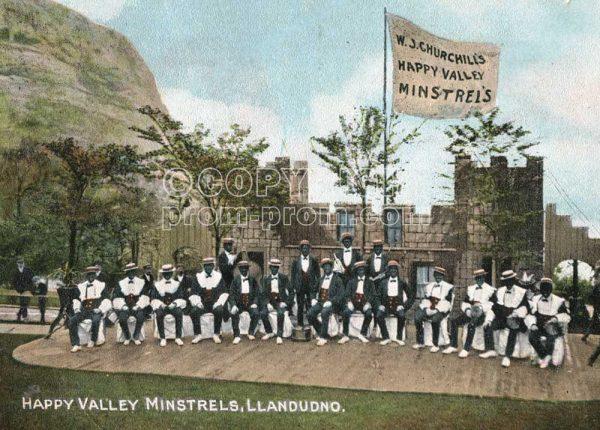 W J Churchill's Happy Valley Minstrels, 1907
