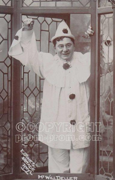 Will Deller, Adeler & Sutton Pierrots, Rhyl, 1906