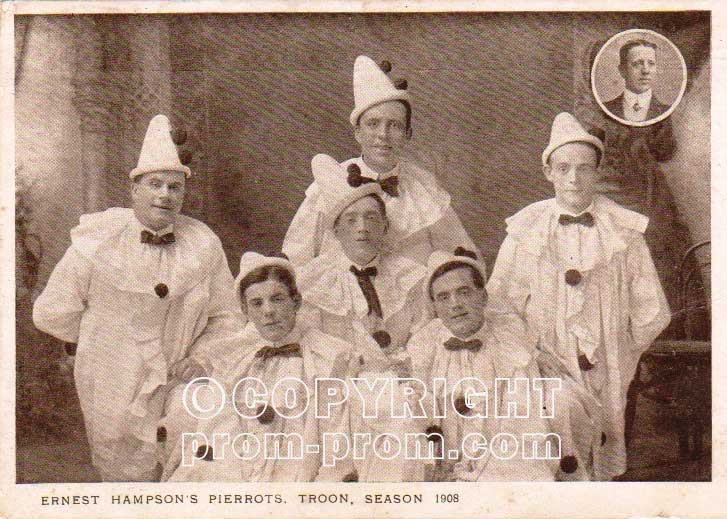 Ernest-Hampson's-Pierrots,-Troon,-1908