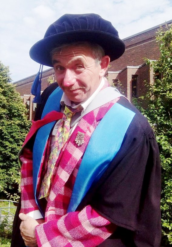 Dr Tony Lidington Graduation