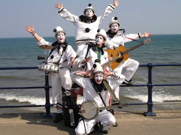 The-Pierrotters at Filey