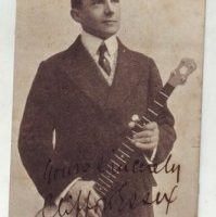 Clifford Essex with banjo