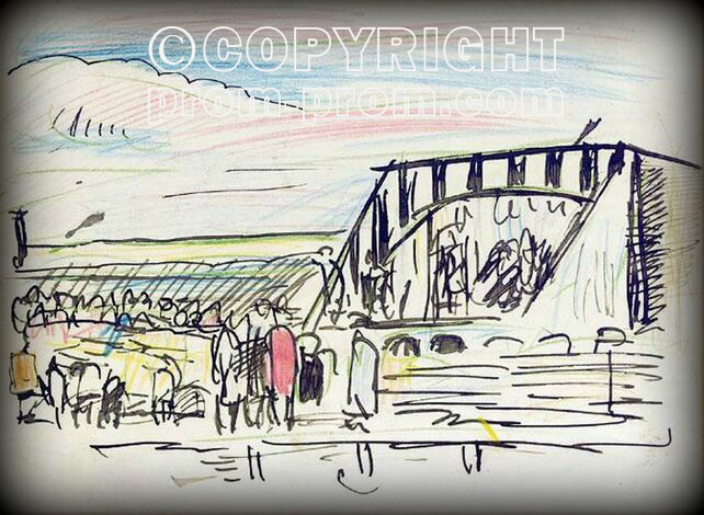 George-Leslie-Hunter-Painting-1-The-Pierrots-Largo-1923