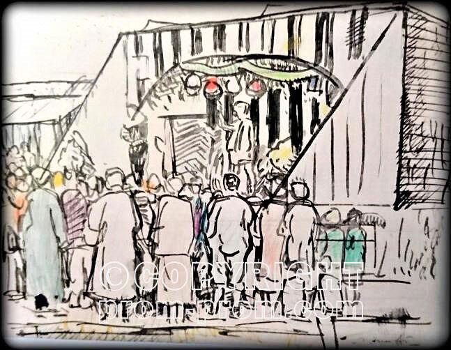George-Leslie-Hunter-Painting-2-The-Pierrots-Largo-1923