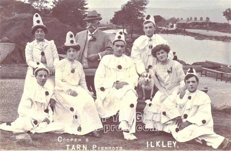 Ilkley Tarn pierrots (1e)