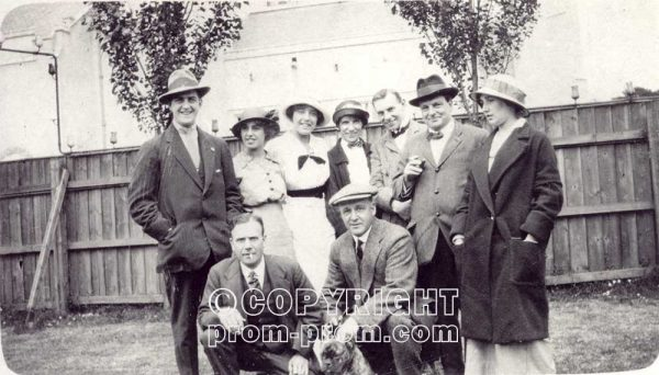 1912 company Graham & Bentley with Stanley Holloway on extreme left