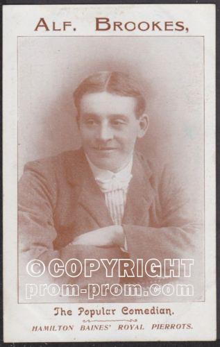Alf Brookes Hamilton Baines Royal Pierrots