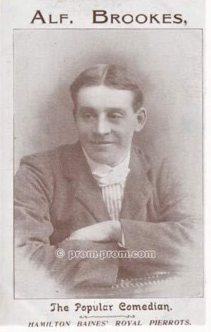 Alf Brookes Hamilton Baines' Royal Pierrots