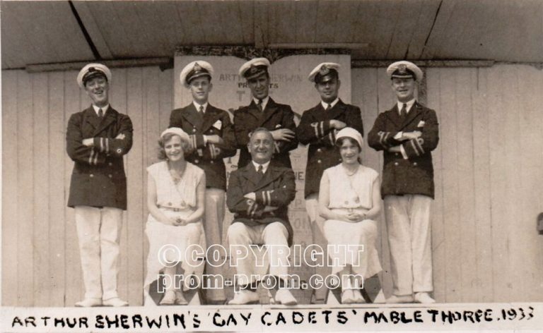 Arthur Sherwin's Gay Cadets Mablethorpe 1933