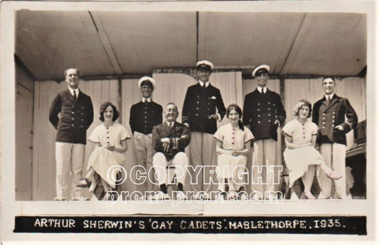 Arthur Sherwin's Gay Cadets Mablethorpe 1935 (front)