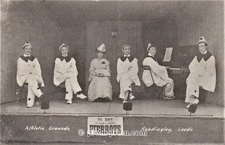 Arthur G Hart's Pierrots, Leeds, 1907