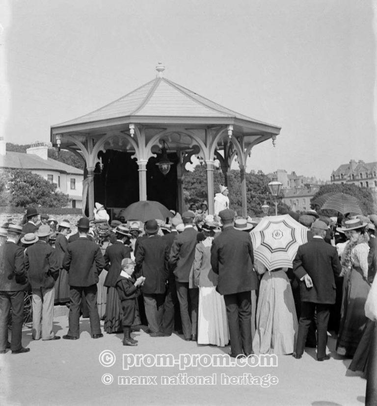 Bandstand Harris Promenade, Douglas Isle of Man, Manx National Heritage