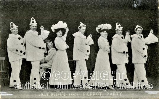 Billy Keene's Pierrots 1906 (1012 Bristol University Archive)