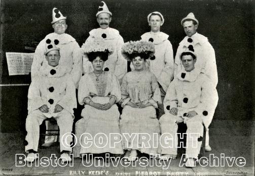 Billy Keene's Pierrots 2013 (Bristol University Archive)