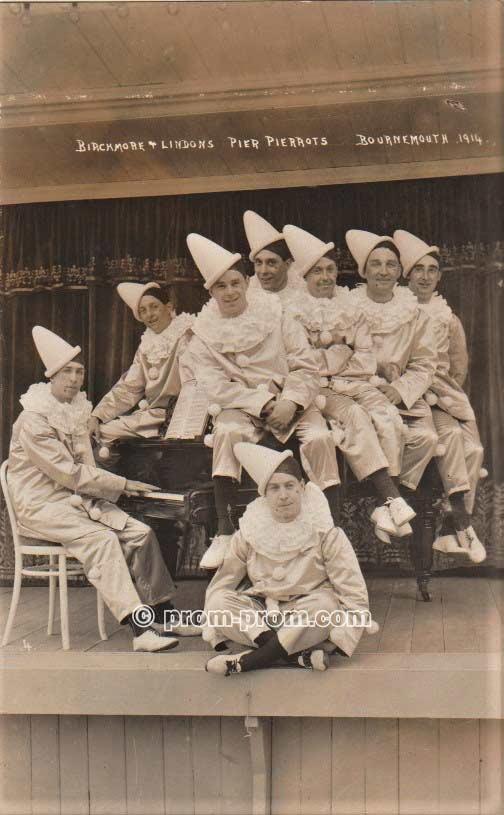 Birchmore & Lindon's Pier Pierrots Bournemouth 1914