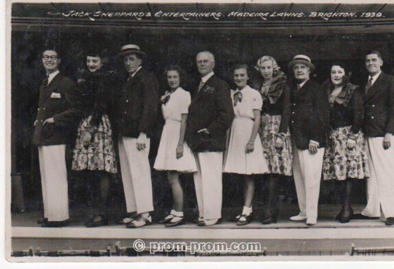 Brighton Billy Edwards 2 - Jack Sheppard's with Billy & wife on left