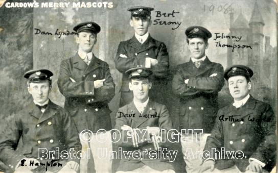 Cardow's Merry Mascots 1908 (Bristol University Archive)