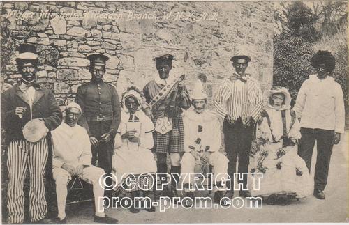 Co. Mayo Wynne Black and White Minstrels, Kilmeadan Ireland