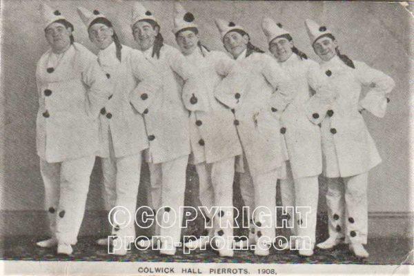 Colwick Hall Pierrots Cacil Zambra Nottinghamshire 1908
