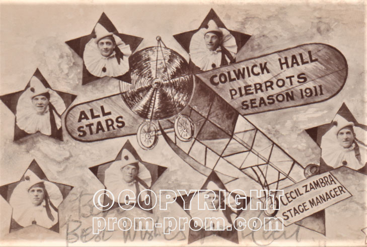 Colwick Hall Pierrots Cacil Zambra Nottinghamshire 1911