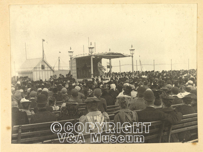 Concert party Yarmouth 1892 all TBC V&A