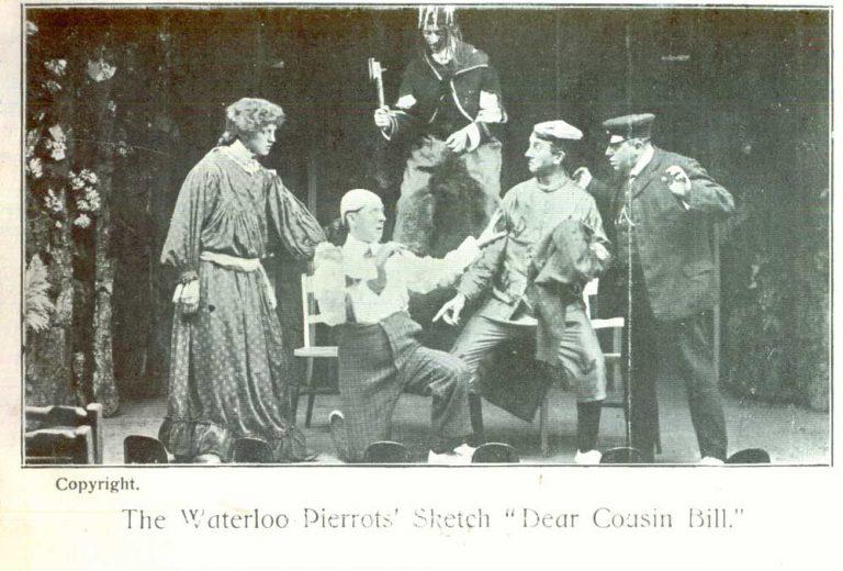 Dear Bill sketch Waterloo Pierrots Bridlington (Front)