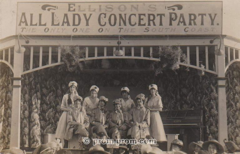 ELLISON'S ALL LADY CONCERT PARTY BRIGHTON 1921