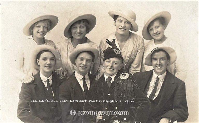 Ellison's Lady Concert Party 1916