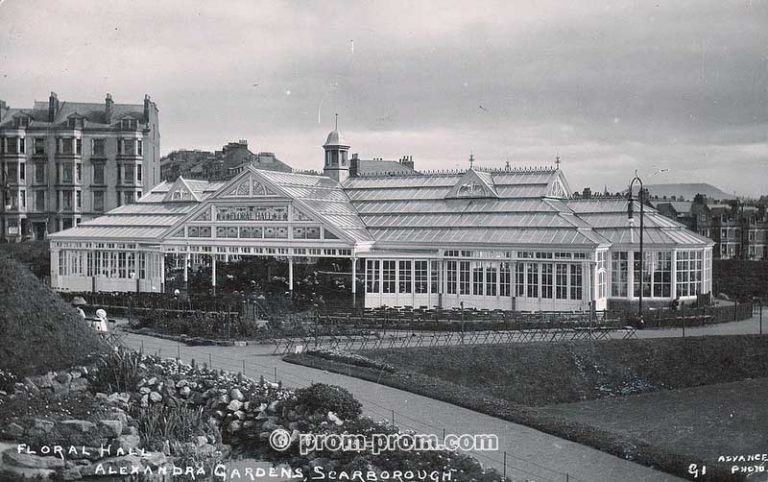 Floral Hall, Alexandra Gardens, Scarborough