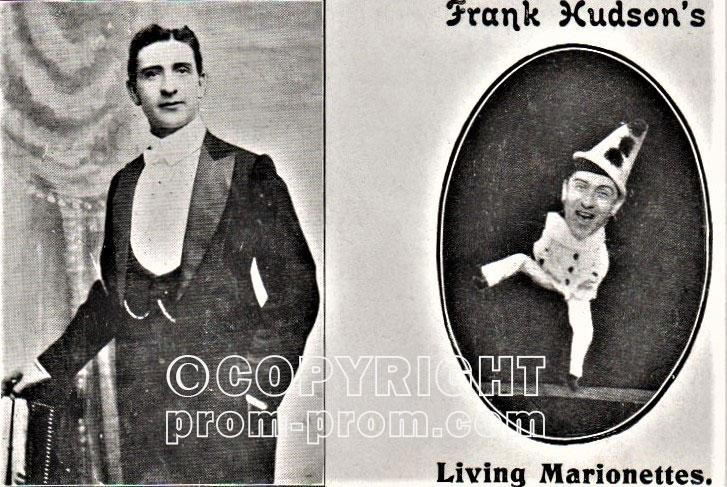 Frank Hudson Living Marionette pierrot 1908