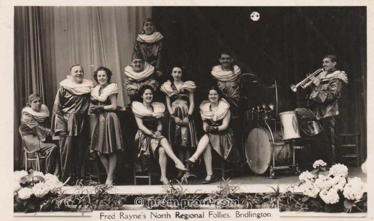 Fred Rayne's North Regional Follies Bridlington 1930s