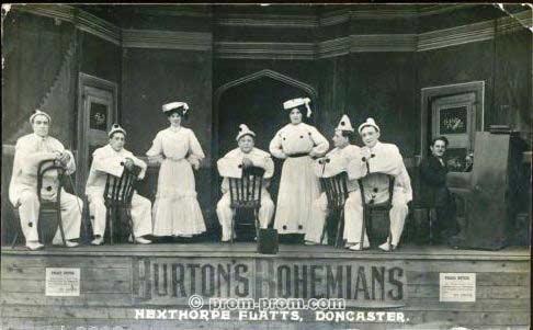 George Burton's 'Bohemians', Hexthorpe Flatts, Doncaster c1907
