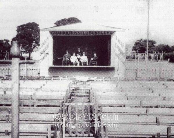 Graham, Russell & Bentley open air stage 1899-1902