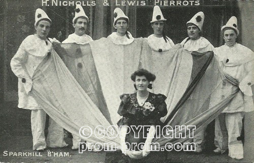H Nicholls & Lewis Sparkhill Pierrots Birmingham