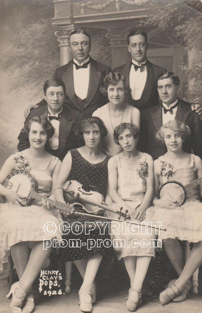 Harry Clay's Pops Gorleston-on-sea 1926