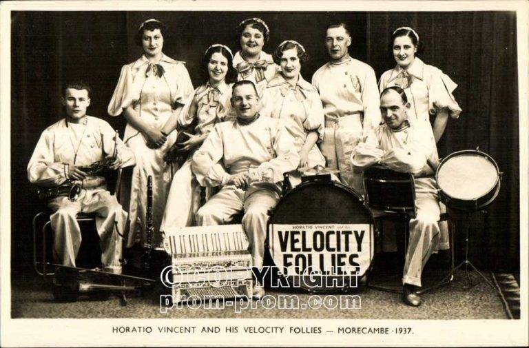 Horatio Vincent and his Velocity Follies Morecambe 1937
