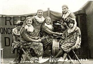 Hornsea Reps Concert Party 1923