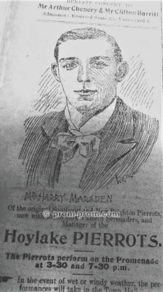 Hoylake pierrots - Mr Harry Marsden (1)