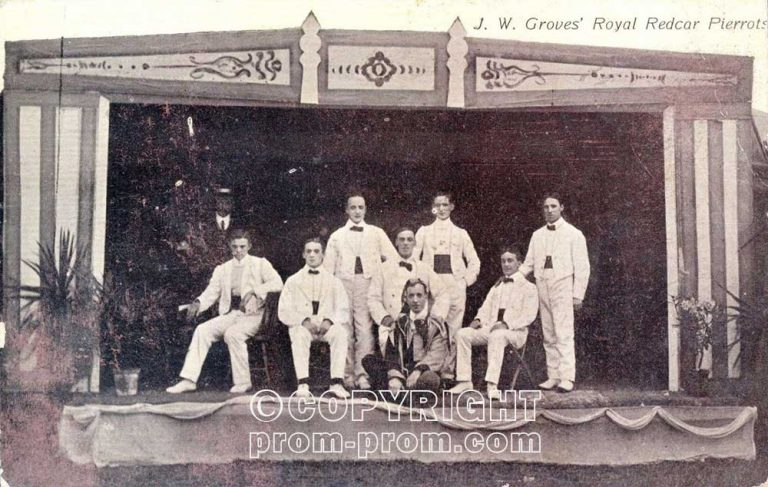 JW Groves' Redcar Pierrots 1906