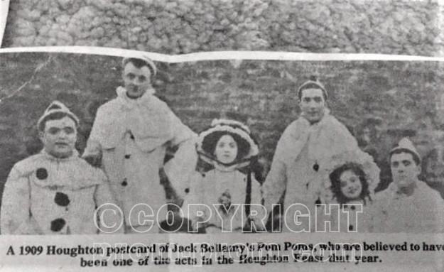 Jack Bellamy's Pom Poms Houghton maybe Sunderland circa 1909