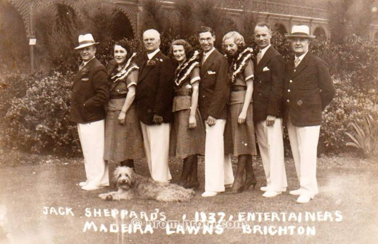 Jack Sheppard's Entertainers Brighton 1937