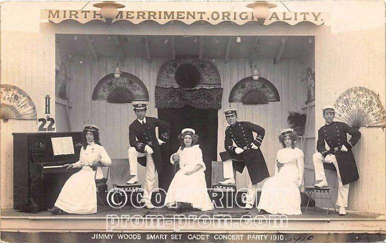 Jimmy Wood's Smart Set Cadet Concert Party 1910