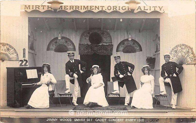Jimmy Woods Smart Set Cadet Concert Party 1910