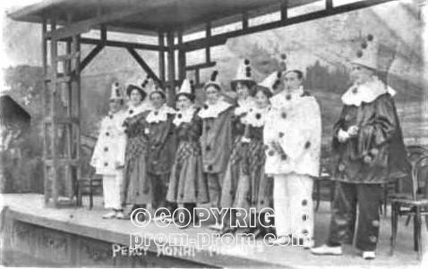 Percy Honri's Pierrots 1909