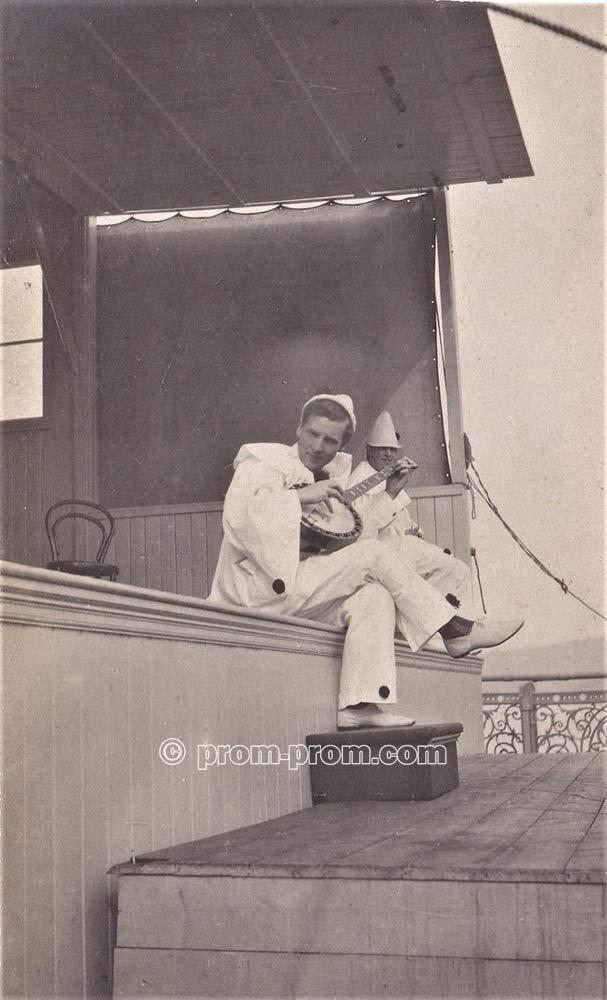 Pierrot possibly at Rhyl